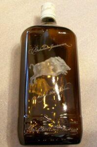 Butelka szklana grawerowana laserowo