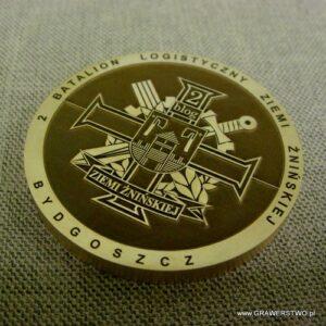 Medal grawerowany laserowo