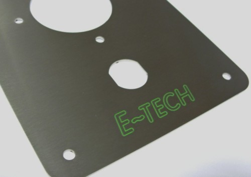 Grawerowanie laserowe w stali nierdzewnej