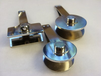 Wymienne wkłady do prasek - rozmiar  fi 50,  fi 40,  50 x 25 mm