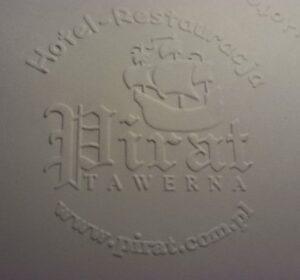 Pieczęć sucha - odcisk na papierze