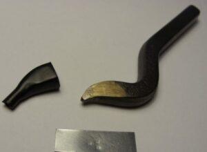 Imiennik złotniczy - grawerowany z stali