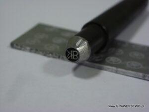 Imiennik stalowy do znakowania