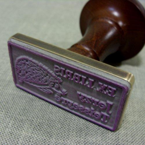 Stempel gumowy w oprawie mosiężnej